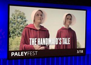 Cast of The Handmaid's Tale Talk Season 2 at PaleyFest