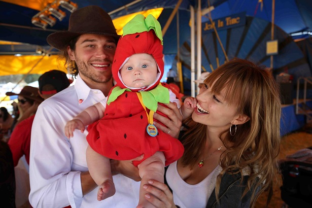CA Strawberry Festival Berry Best Baby contest