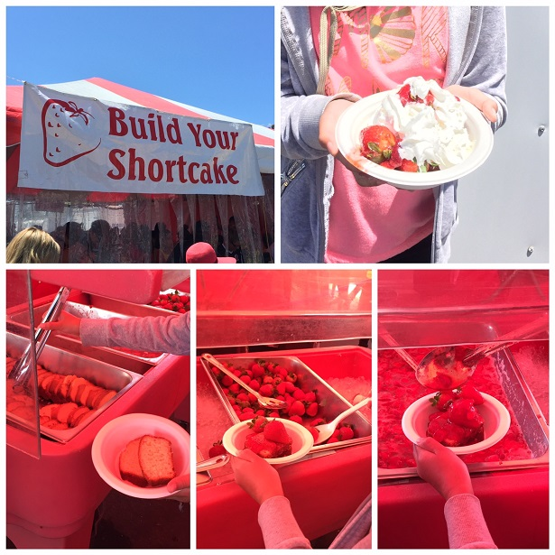 CA Strawberry Festival Build Your Own Shortcake