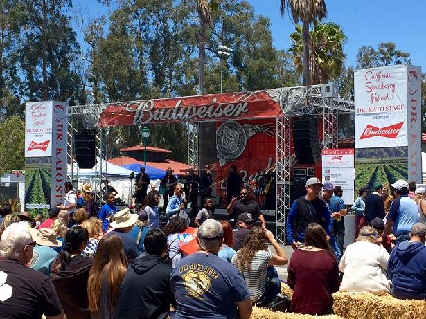 CA Strawberry Festival Entertainment