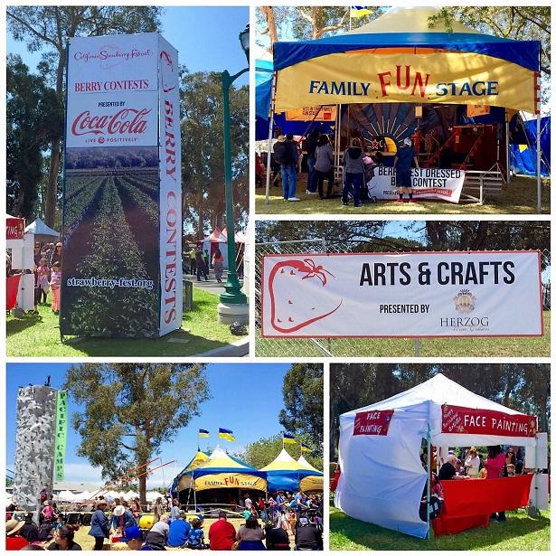 CA Strawberry Festival Fun programs