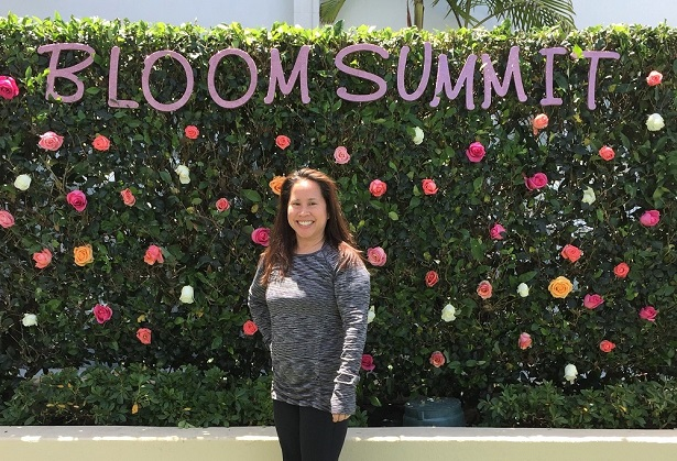Bloom Summit Photo Wall
