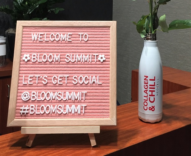 Bloom Summit check-in