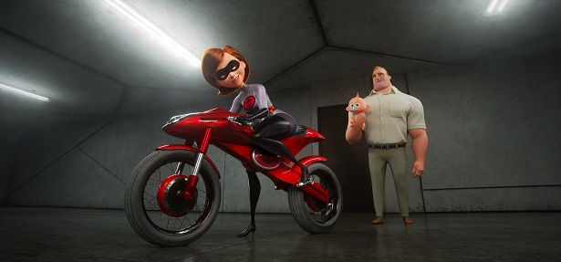Incredibles 2 Elastigirl and Bob