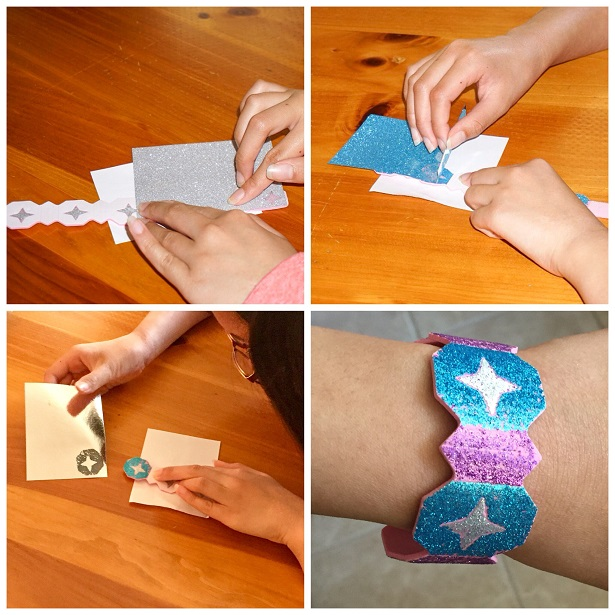 Wrinkle in Time Bracelet Craft