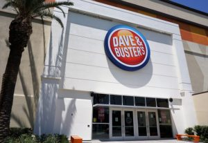 Dave and Busters Entrance