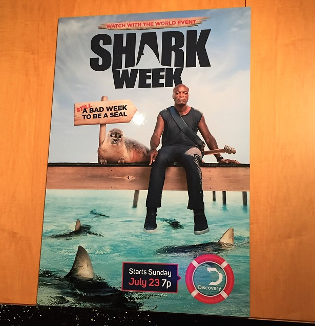 Shark Week - Paley Center Seal Poster