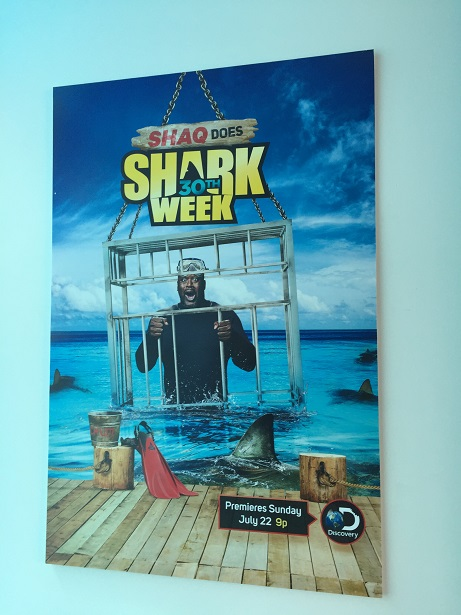 Shark Week - Paley Center Shaq Poster