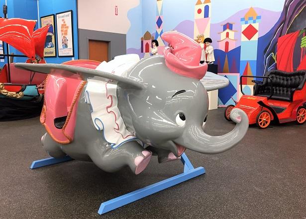 That's From Disneyland Exhibit Dumbo