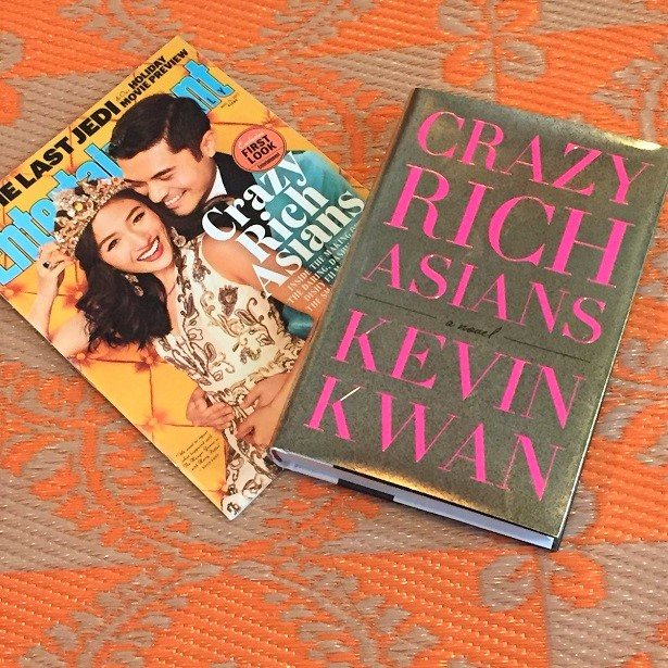 Crazy Rich Asians Book and Magazine Cover