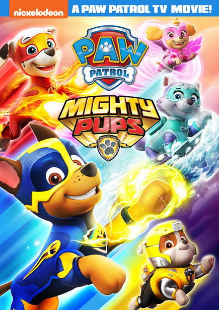 PAW Patrol Mighty Pups DVD Front