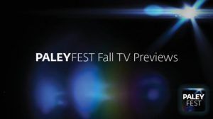 PaleyFest Fall TV Previews signage