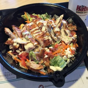 The Habit Burger Grill's Golden Fried Chicken Salad
