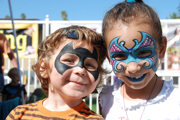 Harvest Festival Kids with Facepainting