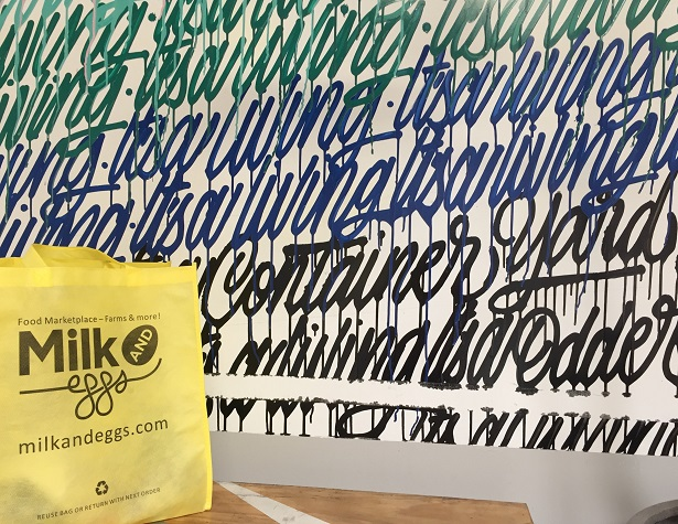 Milk & Eggs Container Yard_Bag