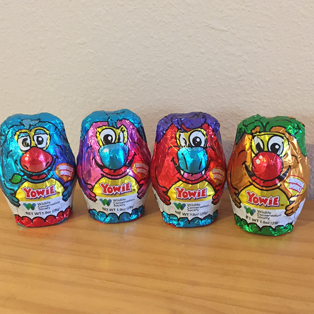 Yowie World Candy Foils
