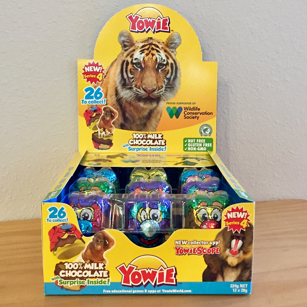 Yowie World Display Box