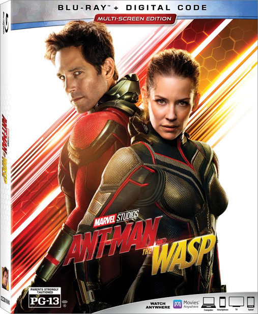 Ant Man and The Wasp Packaging