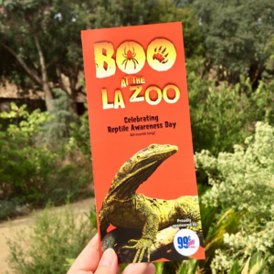 Boo at the LA Zoo map
