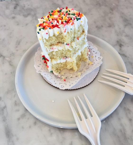 Cake Monkey Bakery Confetti Cake