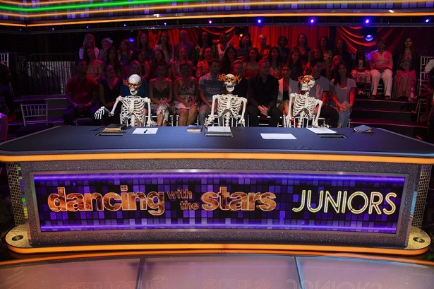 Dancing with the Stars Juniors Halloween judges