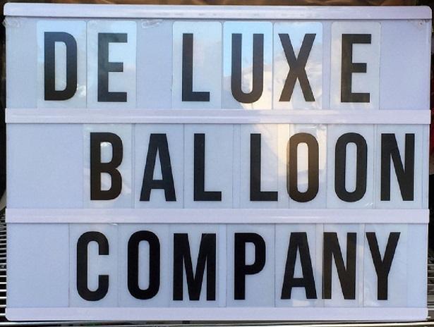 De Luxe Balloon Signage
