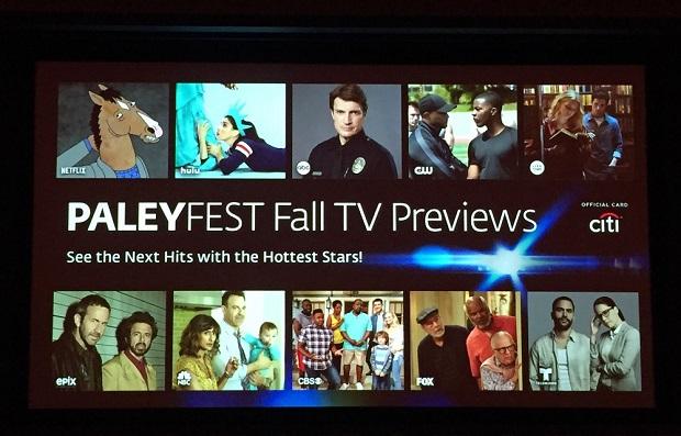 Fall TV Shows PaleyFest