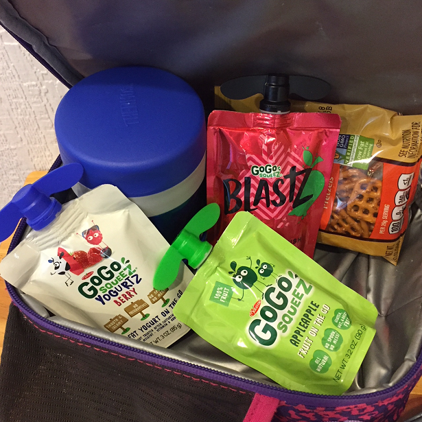 GoGo Squeez - product line lunch bag