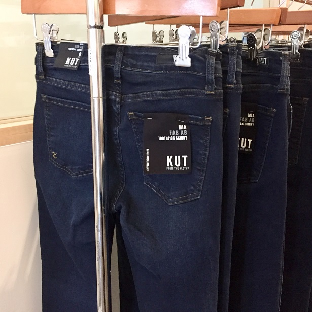 Spa Le La - KUT from the Kloth Fab Ab Denim