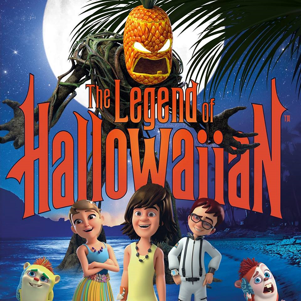 The Legend Of Hallowaiian Poster