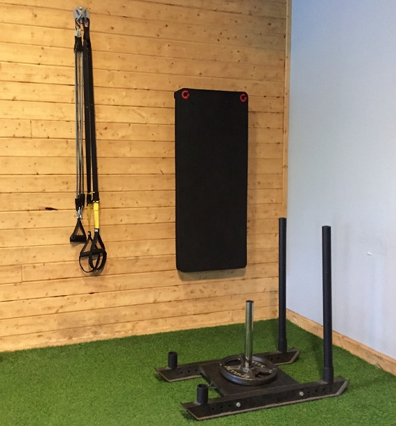 Training Lab TRX and weight sled