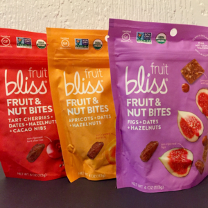 Fruit Bliss - Fruit and Nut Bites 3 pack Square