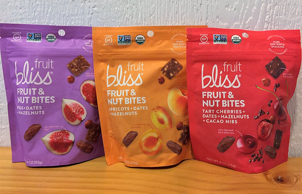 Fruit Bliss - Fruit and Nut Bites 3 pack horizontal