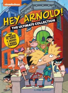 Hey Arnold DVD Package front