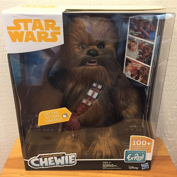 Holiday Toy Guide Star Wars Co-Pilot Chewie