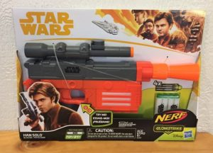 Holiday Toy Guide Star Wars Han Solo Blaster