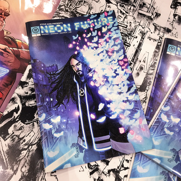 Neon Future Comic Book