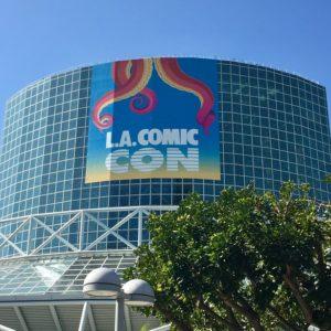 LA Comic Con signage