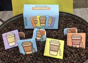 Pocket Latte Coffee Bars Comic Con