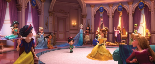 Ralph Breaks the Internet Princesses Film Still