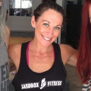 Training with Katie Katie Seigel_credit Sandbox Fitness