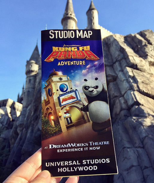 Universal Studios Hollywood Park Map