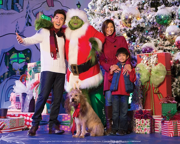 Universal Studios Hollywood - USH Holidays 2018 Grinchmas
