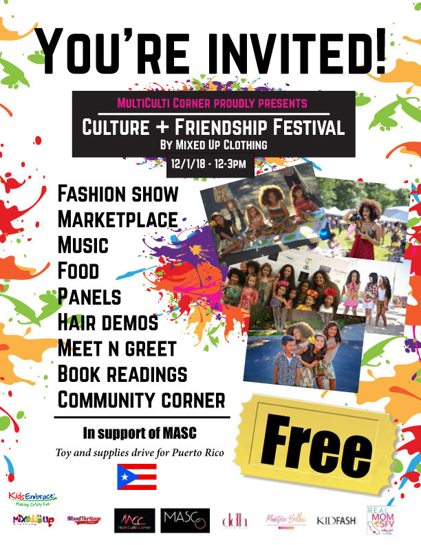 Culture and Friendship Flyer