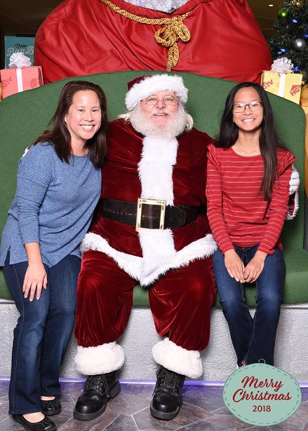 Santa HQ Photo with Santa
