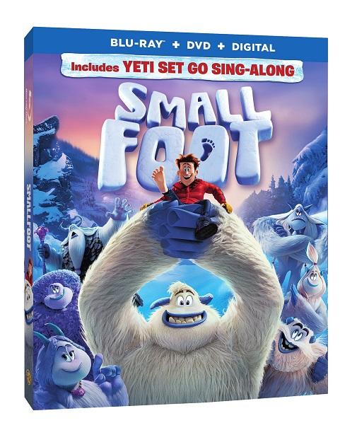 Smallfoot DVD 3D