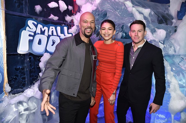Smallfoot DVD Common- Zendaya-Channing Tatum