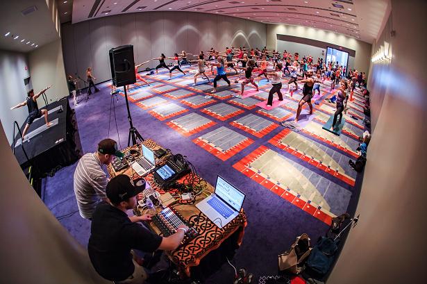Yoga Expo LA Yoga DJ