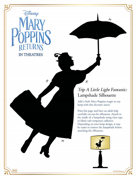Mary Poppins Returns Activity Packet