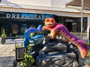 Dreamscape Frogcats and Signage